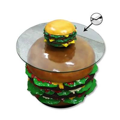 Table hamburgers DEBREF®