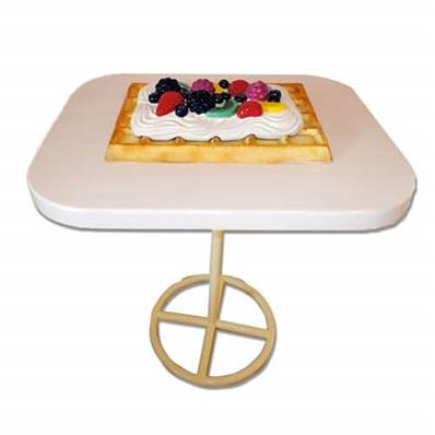 Table gaufre 105 cm DEBREF®