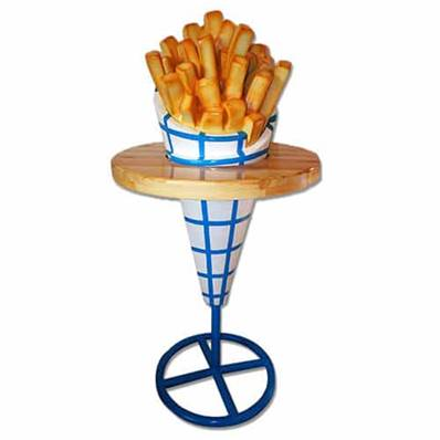 Table frites 170 cm